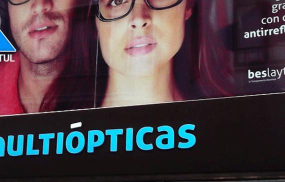 Rótulos especiales para ópticas en Alicante