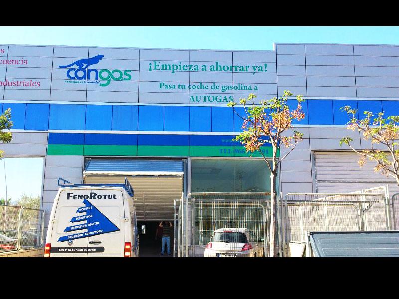 Vinilos para empresas Alicante