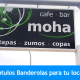 Rótulos banderolas Alicante