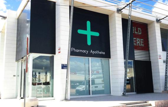 Rótulo para Farmacia en Alicante