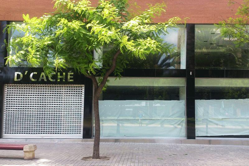 Rotulo y fachada alucobon en ALicante