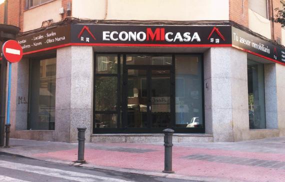 Rótulo inmobiliaria Alicante